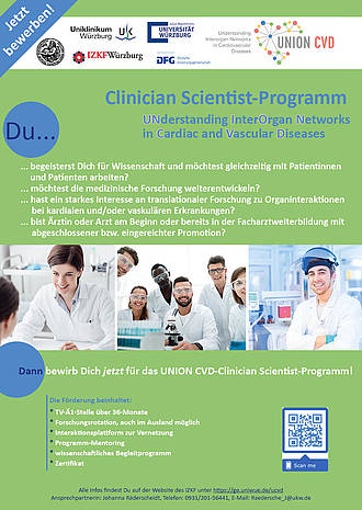 UNION CVD-Clinician Scientist-Programm_Poster