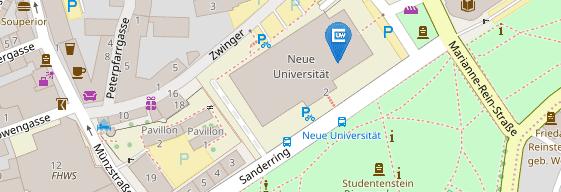 Karte Würzburg Und Umgebung.Home Medizinische Fakultät